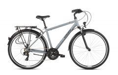 Bicicleta KROSS Trans 1.0 2021 28'' S Gri|Negru 2021