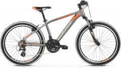 Bicicleta KROSS Level JR 2.0 24 Grafit|Portocaliu 2021
