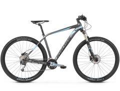 Bicicleta KROSS Level 5.0 27.5'' M Grafit Argintiu Negru Mat 2021