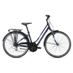 Bicicleta Oras Liv Giant Flourish FS 2 28'' Eclipse 2021 - M