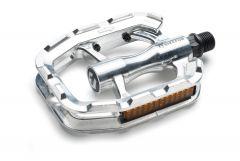 Pedale Bikefun Sole Atelier unibody Aluminiu , Argintiu