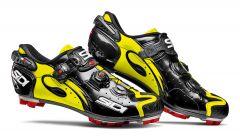 Pantofi ciclism SIDI Drako Carbon Mtb SRS negru/galben fluo 43.5