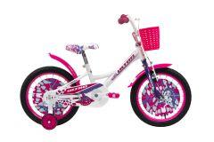 Bicicleta ULTRA Larisa 16 C-Brake Alb