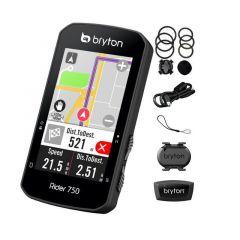 Ciclocomputer BRYTON Rider 750T GPS Set