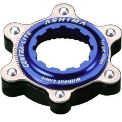 Adaptor ASHIMA Ac02-bk Center Lock-disc Standard Ultra Light Albastru