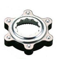 Adaptor ASHIMA Ac02-bk Center Lock-disc Standard Ultra Light Argintiu