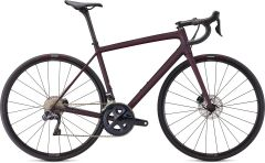 Bicicleta SPECIALIZED Aethos Expert - Satin Red Tint/Dream Silver 56