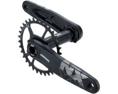 Angrenaj SRAM NX Eagle DUB 12s 175 w Direct Mount 32t X-SYNC 2 Steel Chainring Black (DUB Cups/Bearings Not Included)