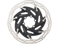 Disc frana SRAM Centerline X Road 2 Piece 160mm Black (includes steel rotor bolts) Rounded
