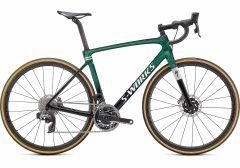 Bicicleta SPECIALIZED S-Works Roubaix - SRAM Red eTap AXS - Gloss Green Tint 54