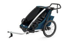 Carucior sport THULE Chariot Cross 1 - Majolica Blue
