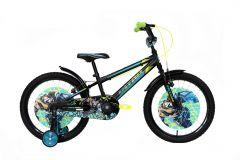 Bicicleta ULTRA Kidy 20 V-Brake Negru Mat