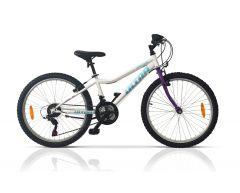 Bicicleta ULTRA Gravita 24'' - Alb