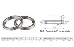 "Rulment cuvete FSA TH-070/DJ ACB 45x45 1.5"" singleS MR171"