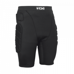 Pantaloni cu protectii TSG Crash Pant All Terrain - Black S