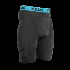 Pantaloni cu protectii TSG Crash Pant A - Black XS