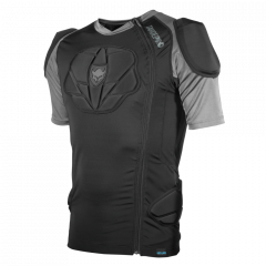 Tricou cu protectii TSG Tahoe Pro A S/S - Black XL