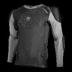 Tricou cu protectii TSG Tahoe Pro A 2.0 L/S - Black L