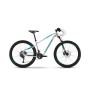 Bicicleta HAIBIKE SEET HardSeven Life 2.0 (XS) Alb/Turcoaz 2019