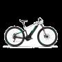 Bicicleta HAIBIKE SDURO HardNine 7.0 i500Wh (L) Negru (Gri/Turcoaz) 2019