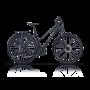 Bicicleta CROSS Travel lady- 28'' trekking