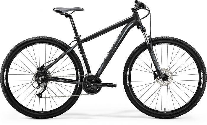 Bicicleta MERIDA Big Nine 40-D L(19) Negru Mat(Gri) 2018