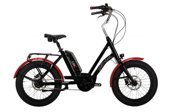 Bicicleta CORRATEC Life S Active 400 negru/rosu