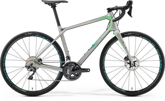 Bicicleta MERIDA Silex 7000 L(53) Gri(Verde) 2019