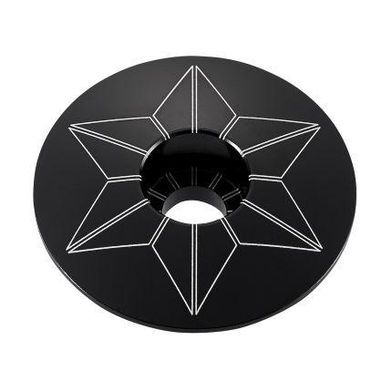 Capac furca SUPACAZ Star  - negru (anodized)