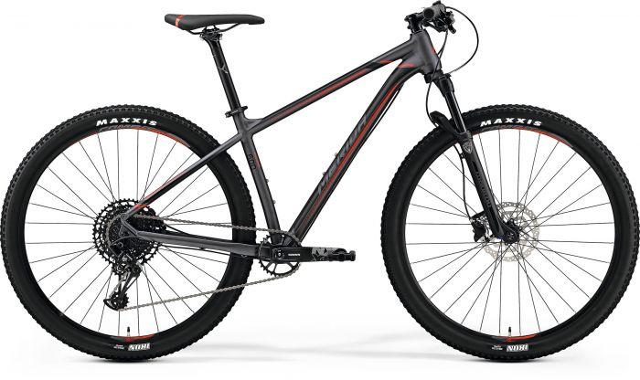 Bicicleta MERIDA Big Nine 600 29' (L) Gri Inchis (Negru/Rosu) 2019