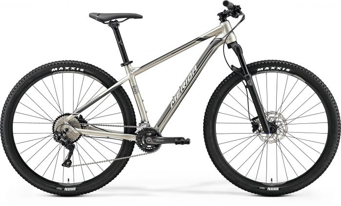 Bicicleta MERIDA Big Nine 500 29' (XL) Titan (Argintiu/Negru) 2019