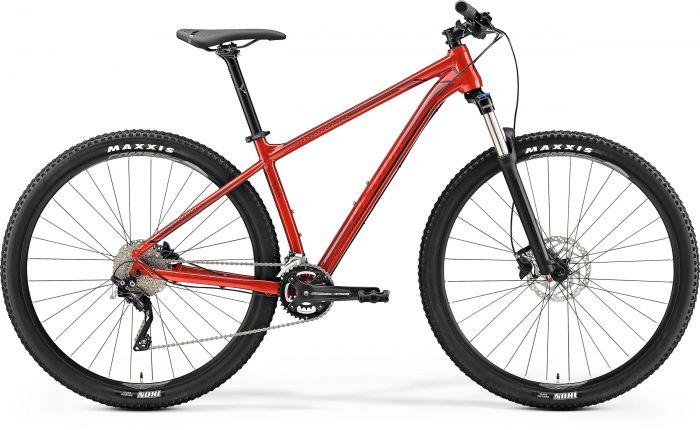 Bicicleta MERIDA Big Nine 300 29' (M) Rosu Metalic (Rosu Inchis/Negru) 2019