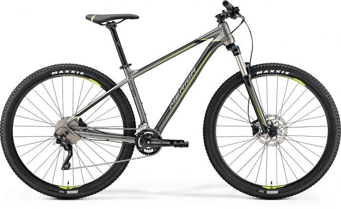 Bicicleta MERIDA Big Nine 300 29' (M) Antracit (Verde/Negru) 2019