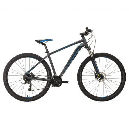 Bicicleta MERIDA Big Nine 40-D 29' (M) Gri Inchis (Negru/Albastru) 2019