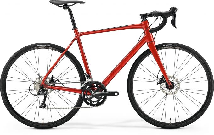 Bicicleta MERIDA Scultura Disc 200 L(56) Rosu (Negru) 2019
