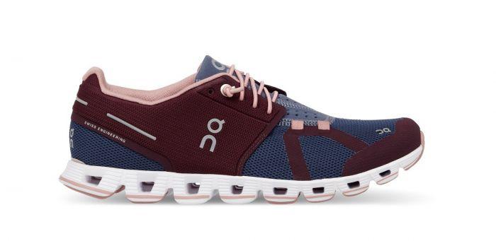 Pantofi Alergare ON Cloud Dama Visiniu Catifea - 38