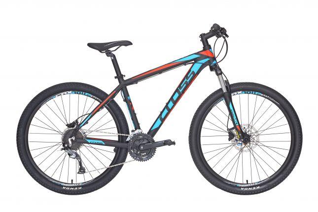 Bicicleta CROSS Grx 827 27.5 Negru/Albastru/Rosu 560mm