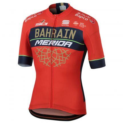 Tricou MERIDA Bahrain Team BodyFit (L)