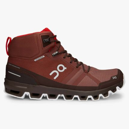 Ghete ON Cloudrock Waterproof cocoa red 45