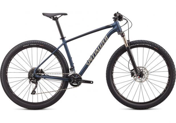 Bicicleta SPECIALIZED Rockhopper Expert 2x 29'' - Satin Navy/Gloss White Mountains/Black M