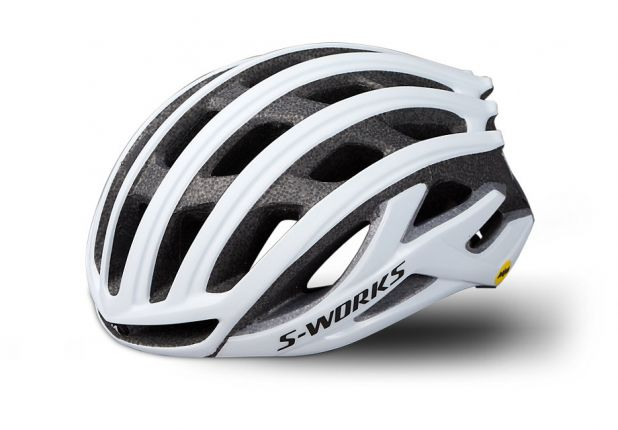 Casca SPECIALIZED S-Works Prevail II MIPS with ANGi - Matte White S