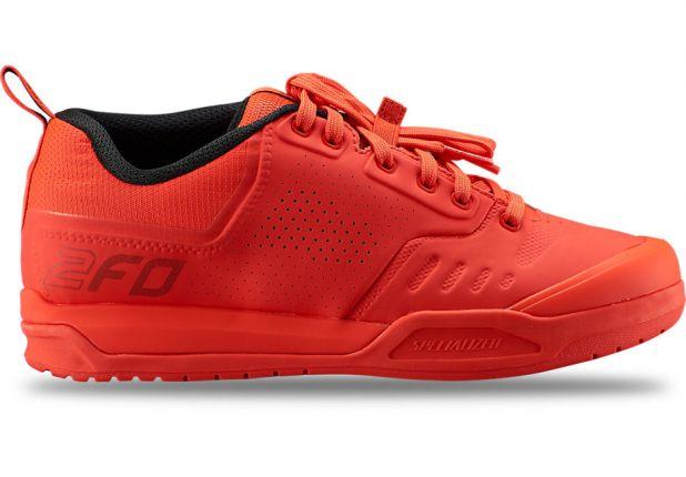 Pantofi ciclism SPECIALIZED 2FO Clip 2.0 Mtb - Rocket Red 41