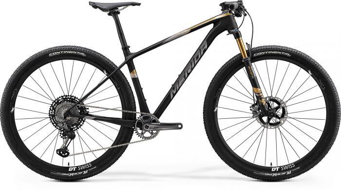 Bicicleta MERIDA Big.Nine 9000 L Negru|Gold 2020