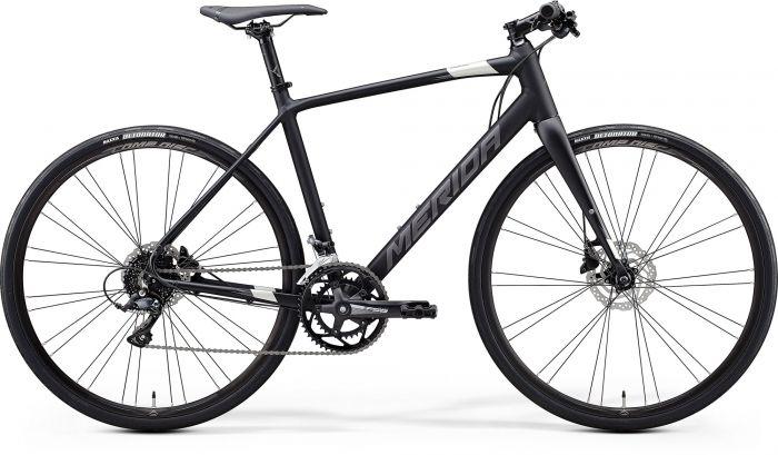 Bicicleta MERIDA Speeder 200 XL Negru Argintiu 2020