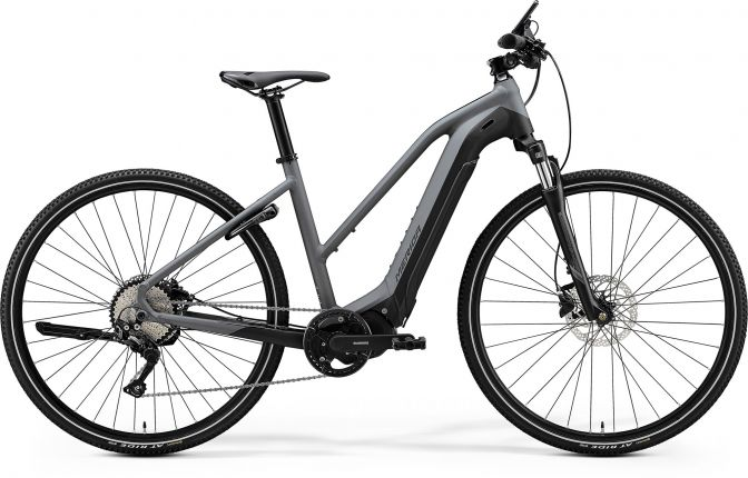Bicicleta MERIDA Espresso 400 M-51 Gri Negru 2020