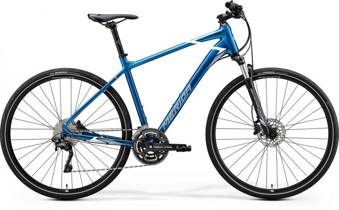 Bicicleta MERIDA Crossway 500 M Albastru 2020