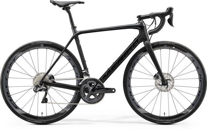 Bicicleta MERIDA Scultura Disc 8000-E M-L Negru Antracit 2020
