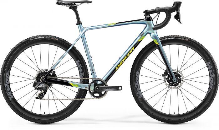 Bicicleta MERIDA Mission CX Force EDITION M Albastru|Negru|Galben 2020