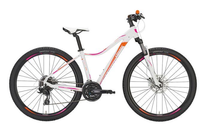 Bicicleta Conway MQ427 27.5 24vit Alb / Portocaliu 440mm