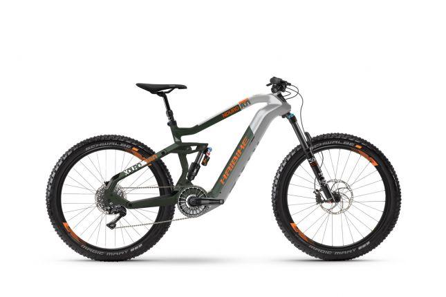 HAIBIKE XDURO Nduro 8.0 i630Wh 11-G XT Argintiu Verde Portocaliu XL 2020